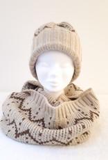 About accessories Dames Gebreide Colsjaal met Lurexdraad