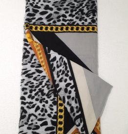 About accessories Dames Sjaal Luipaardprint met Dessin1