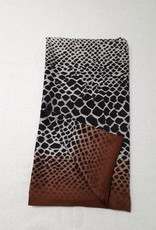 About accessories  Ladies Scarf with Snake Print