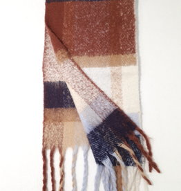 About accessories Ladies scarf with pattern