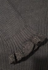 C&S Sweater Black with Ruffles
