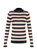 C&S  Sweater Light Pink Striped