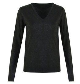 David & Alex Sweater Black with glitter