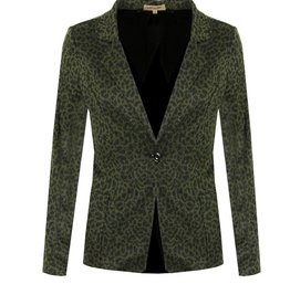 David & Alex Blazer Panther print Green
