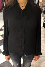 C&S  Blouse Black