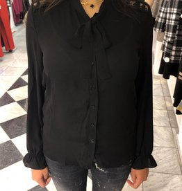 C&S Blouse Zwart