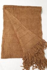 C&S Sjaal Okergeel 218 x 46 cm