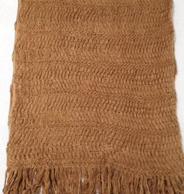 C&S Scarf ocher yellow 218 x 46 cm