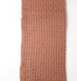 C&S Dames Sjaal Roestbruin met Glitters 105 x 58 cm