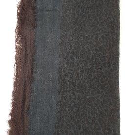 C&S Sjaal Groen met Kant 200 x 100cm