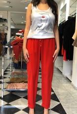 XT Studio Jeggings Pants Red 20SS643