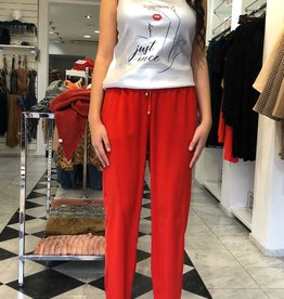 XT Studio Jeggings Pants Red 20SS643