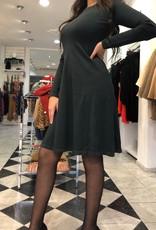 C&S Dark Green Dress