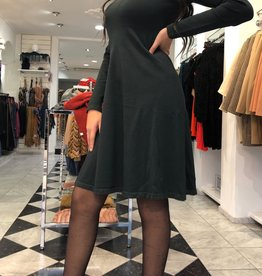 C&S Dark Green Dress