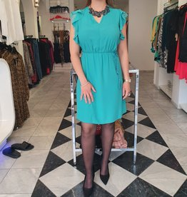 XT Studio Dress Aqua Blue 20SS646