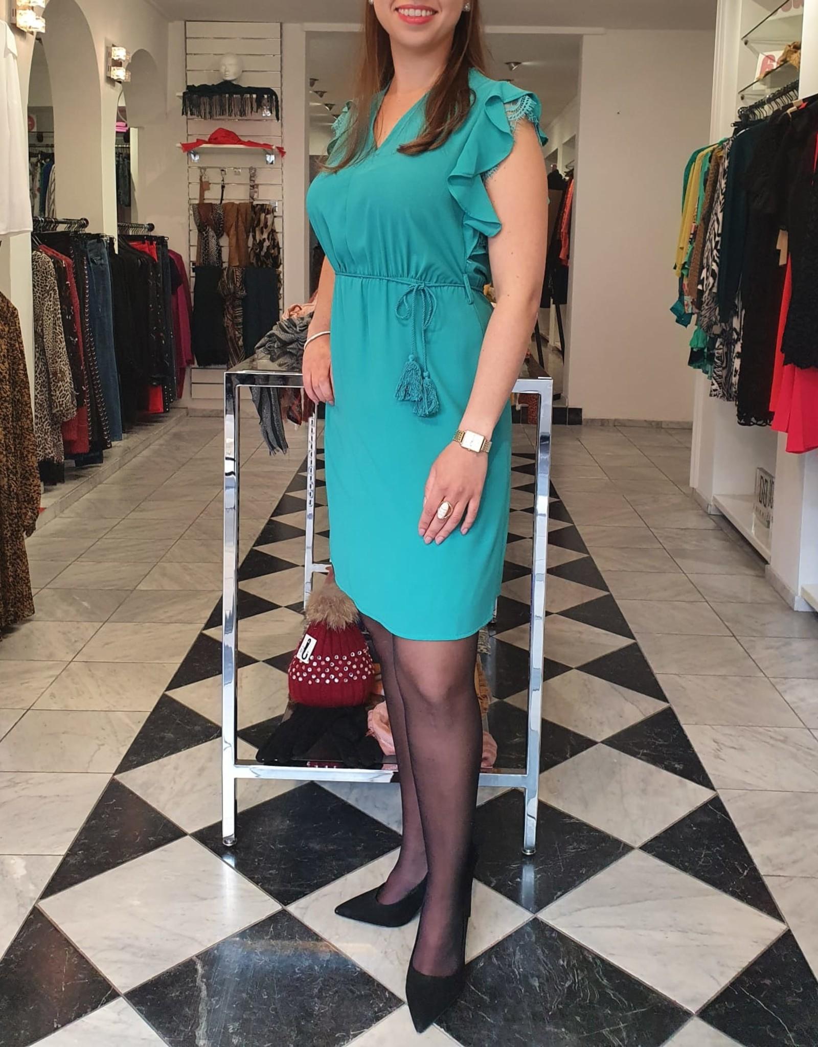 XT Studio Dress Aqua Blue 20SS646