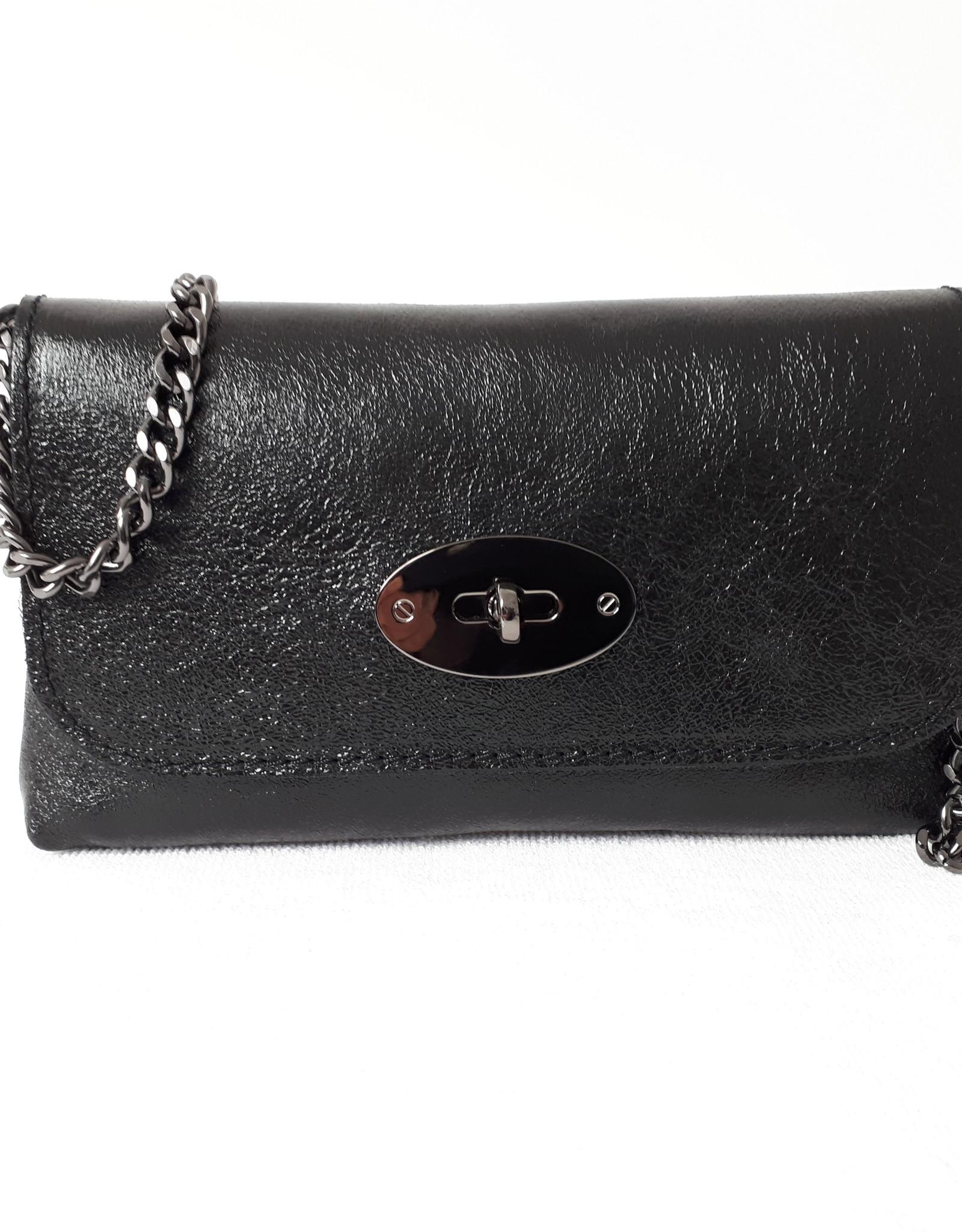 About accessories Dames Leren Tas  met Draaisluiting