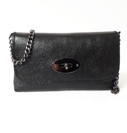 About accessories Ladies Bag Leather Twist Closure