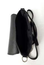 About accessories  Ladies leather Bag with twist closure