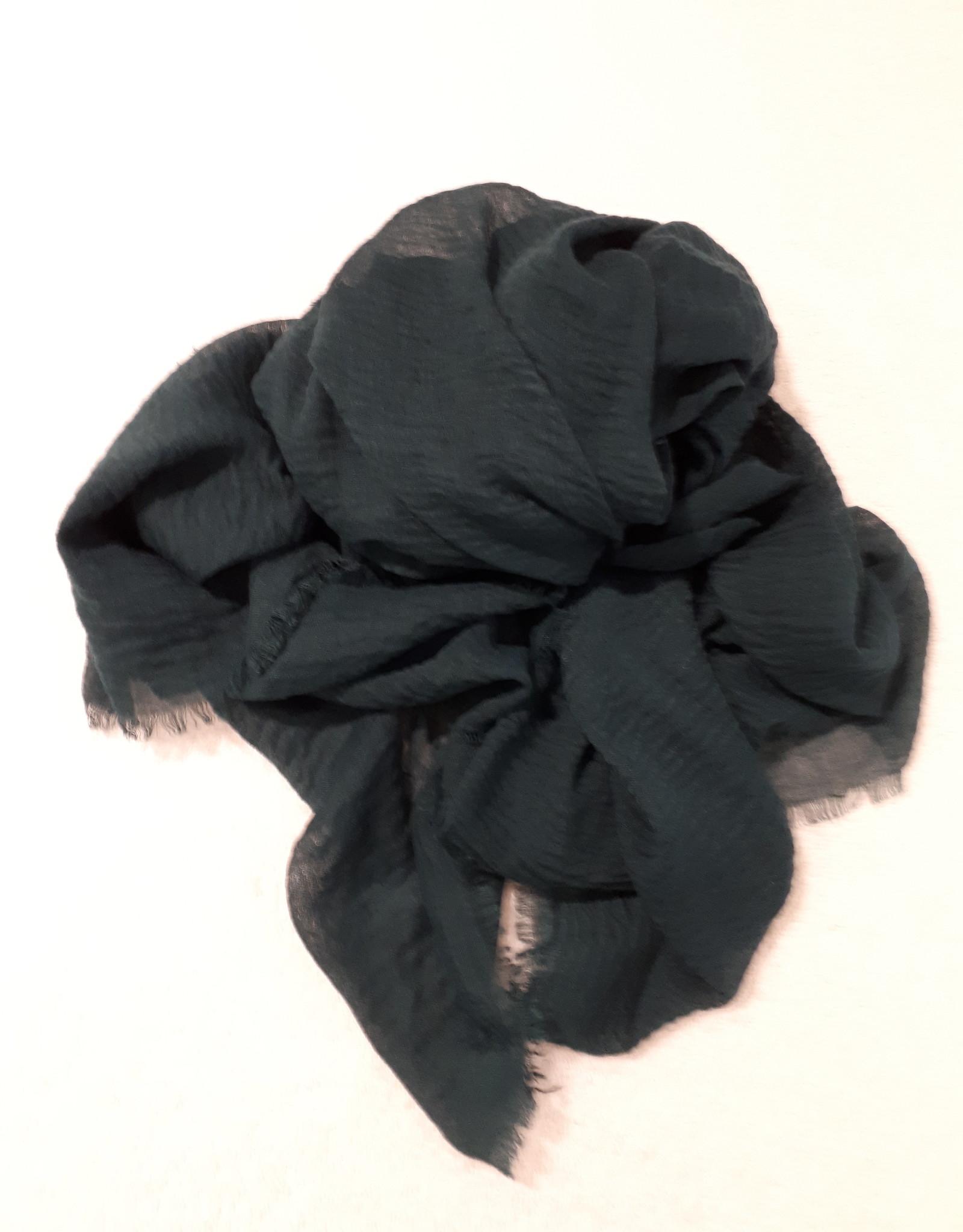 C&S Scarf Dark Green  200 x 95 cm