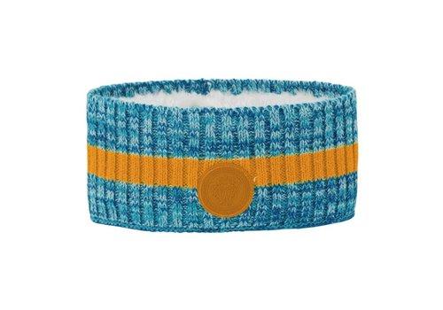 VOSSATASSAR Tur hoofdband wol - blauw