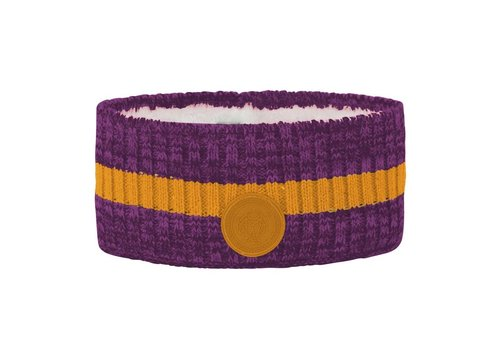 VOSSATASSAR Tur hoofdband wol - paars