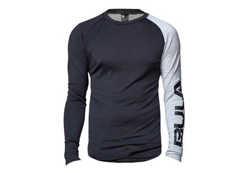 Bula Attitude shirt merino wol –  grijs