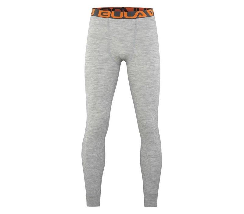 Attitude legging merino wol – grijs