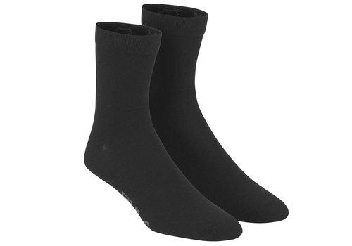 Bula Bula sokken wolmix (2 paar) - zwart