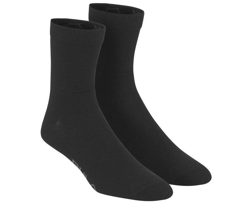 Bula sokken wolmix (2 paar) - zwart