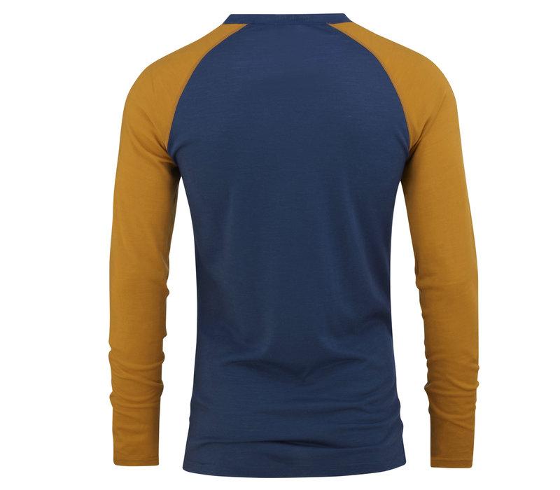 Retro shirt merino wol