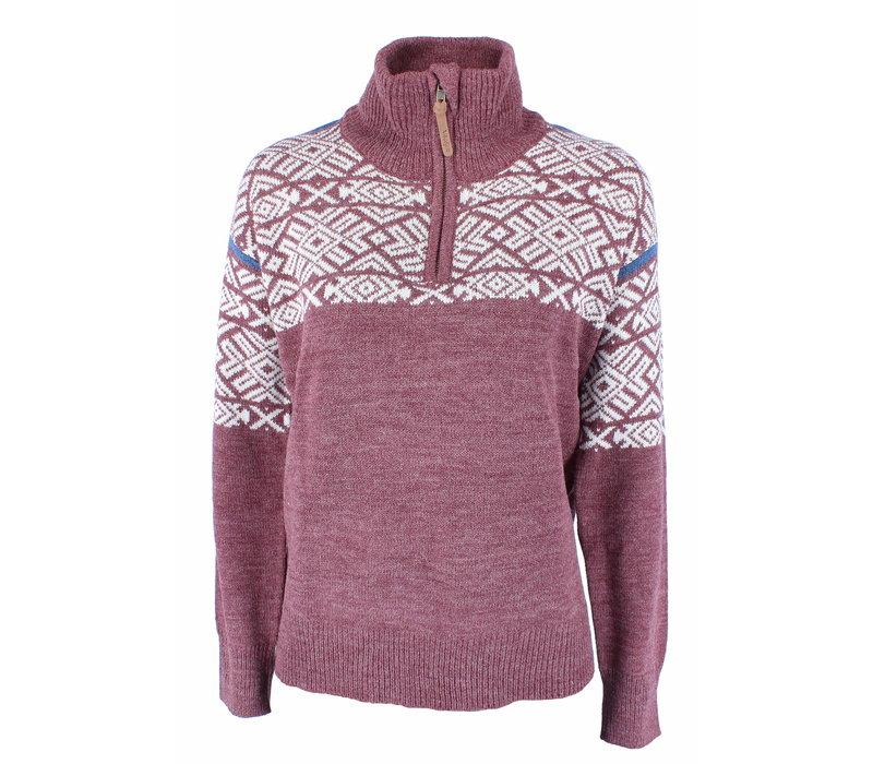 Vilter Sweater Wolmix - Burgundy