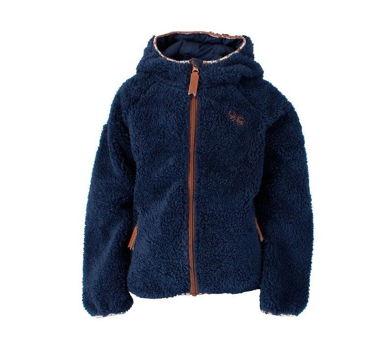 Vesletroll Fleece vest - Blauw