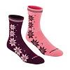 Bula Sokken Vinst Jam in wolmix (2 paar) - roze