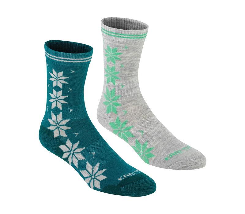 Sokken Jam in wolmix (2 paar) - groen