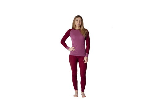 Sway Norway Thermoset Dames - Red Violet