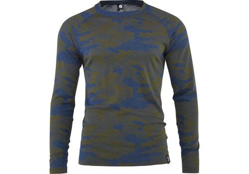 Bula Camo shirt merino wol – denim