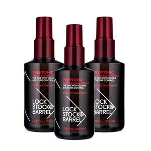 Lock, Stock & Barrel Preptonic Thickening Spray 3-pack