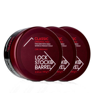 Lock, Stock & Barrel Original Classic Wax 3-pack