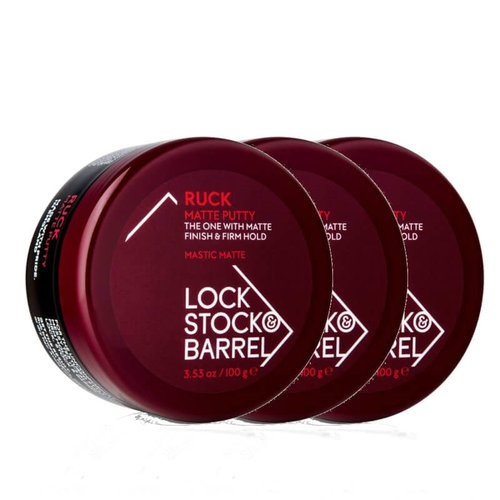 Lock, Stock & Barrel Ruck Matte Putty 3-pack