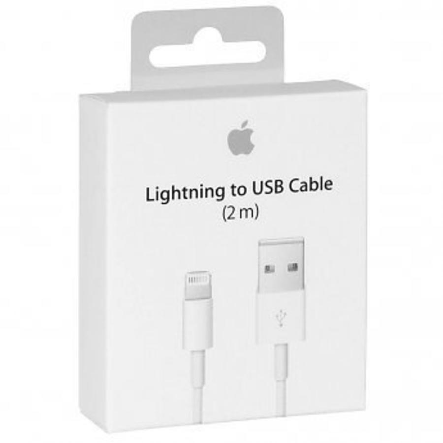 Apple USB Lightning oplaadkabel 2M iPhone / iPad-1