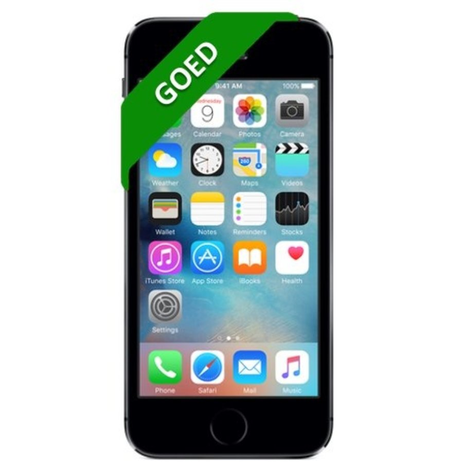 iPhone 5S Refurbished - 16GB - Space Gray - Goed-1