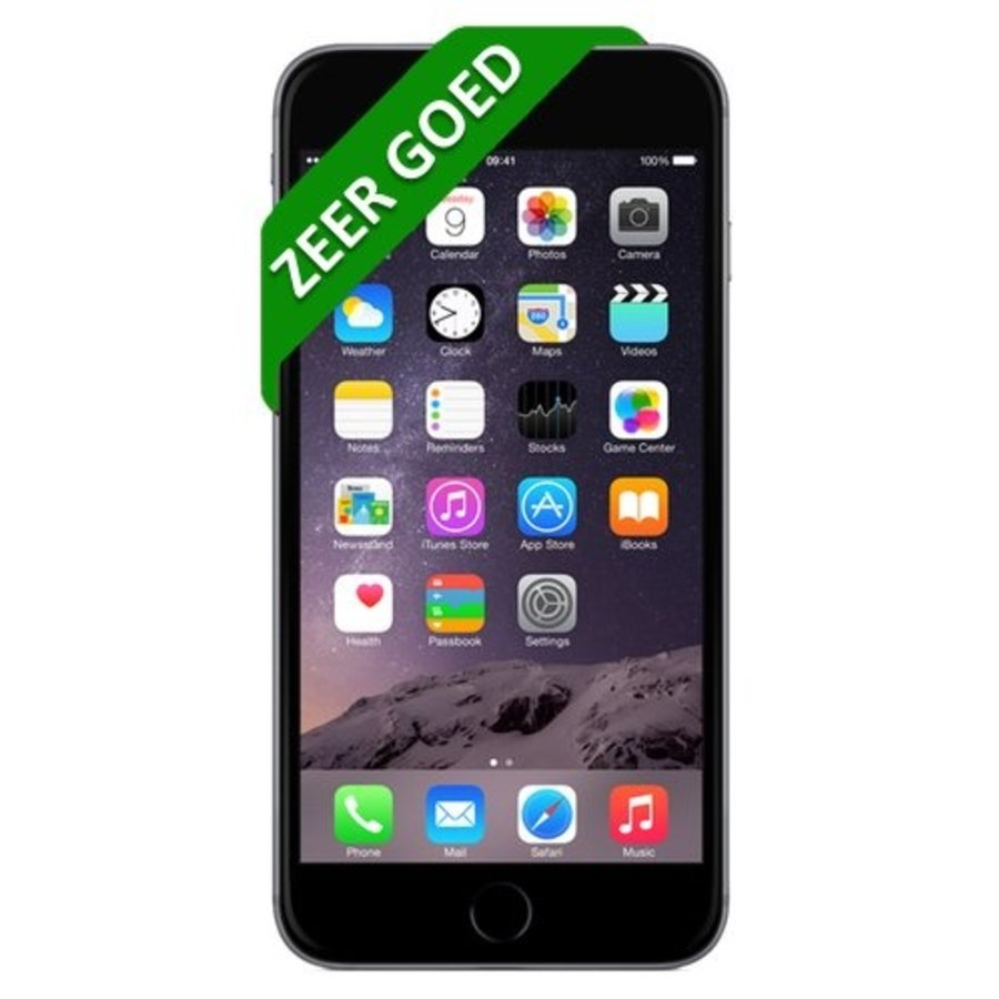 iPhone 6 - 64GB - Space gray - Zeer goed-1
