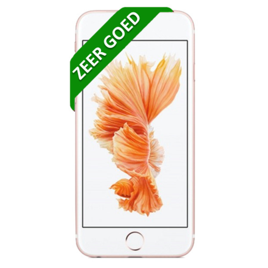 Apple iPhone 6S  - 64GB - Rose Goud - Zeer Goed (marge)-2