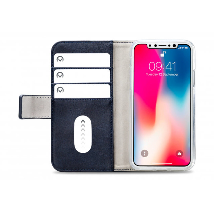 Mobilize Elite Gelly Wallet Book Case Apple iPhone Xs Max Blue-3