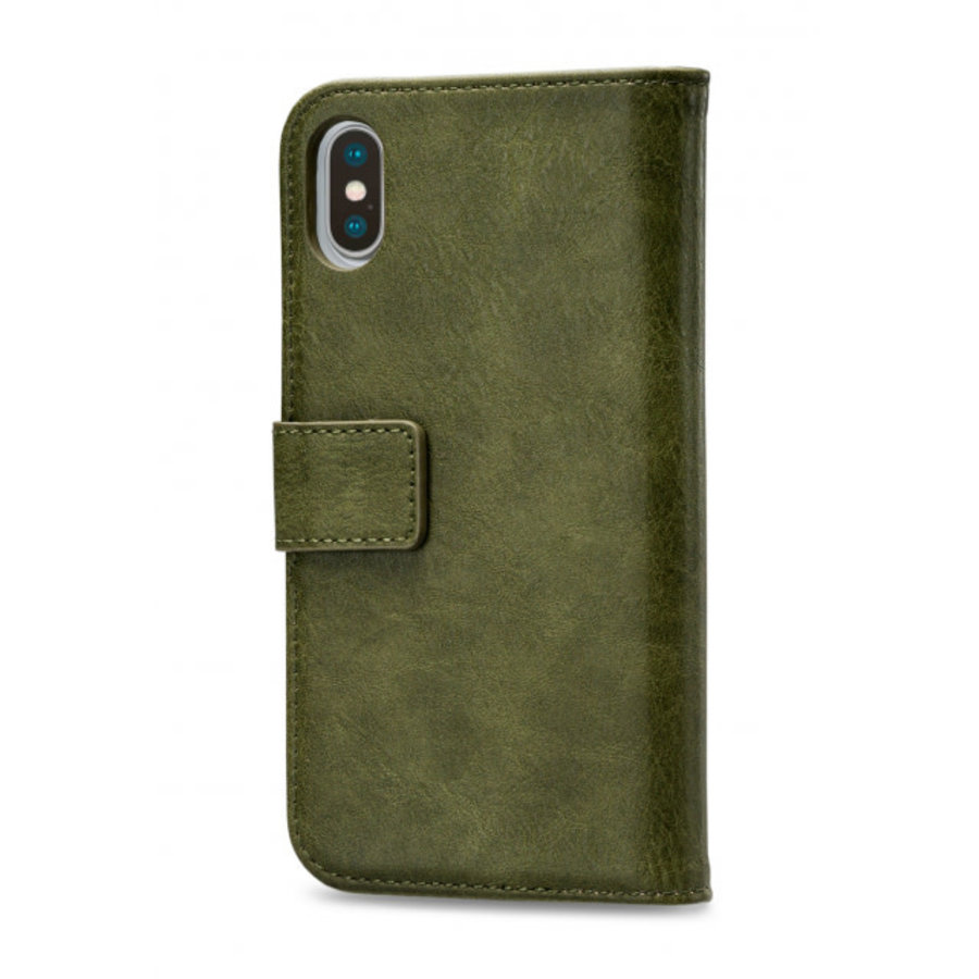 Mobilize Elite Gelly Wallet Book Case Apple iPhone Xs Max Green-2