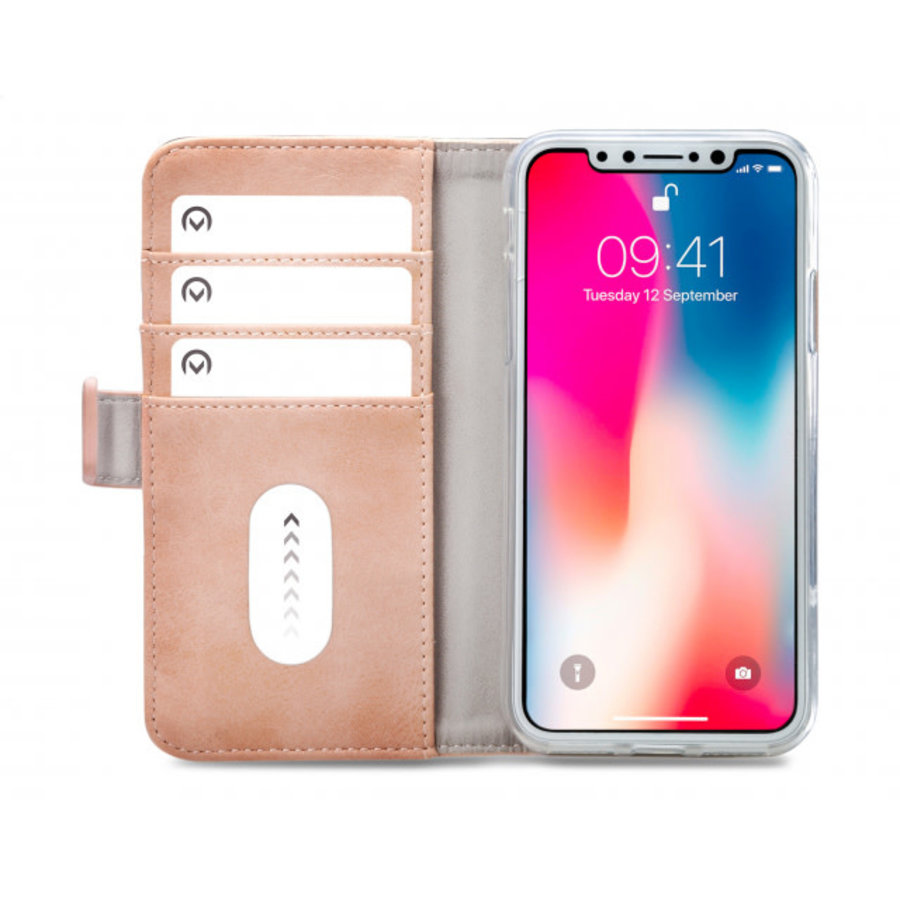 Mobilize Elite Gelly Wallet Book Case Apple iPhone Xs Max Soft Pink-3