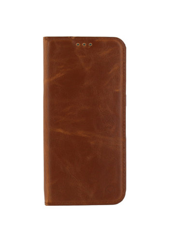 iPhone X/Xs Mobilize Premium Gelly Book Case Brown