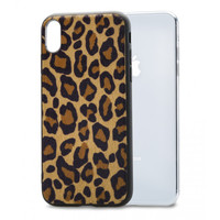 thumb-Mobilize Gelly Case Apple iPhone X/Xs Brown Leopard-1
