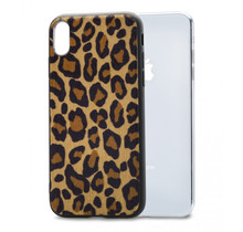 Mobilize Gelly Case Apple iPhone X/Xs Brown Leopard